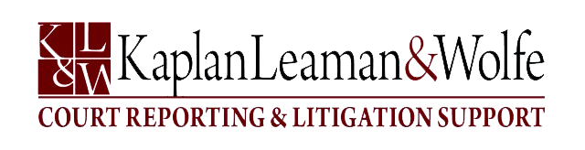 Kaplan-Leaman-and-Wolfe-Court-Reporters-Logo